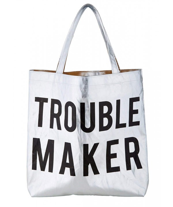 Trouble Maker Platinum Polycotton Shoulder