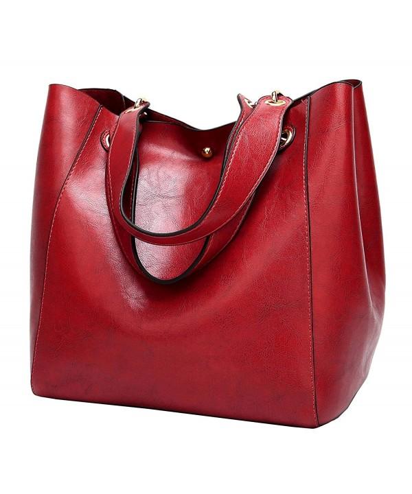 Halemet Leather Shoulder Satchel Handbag