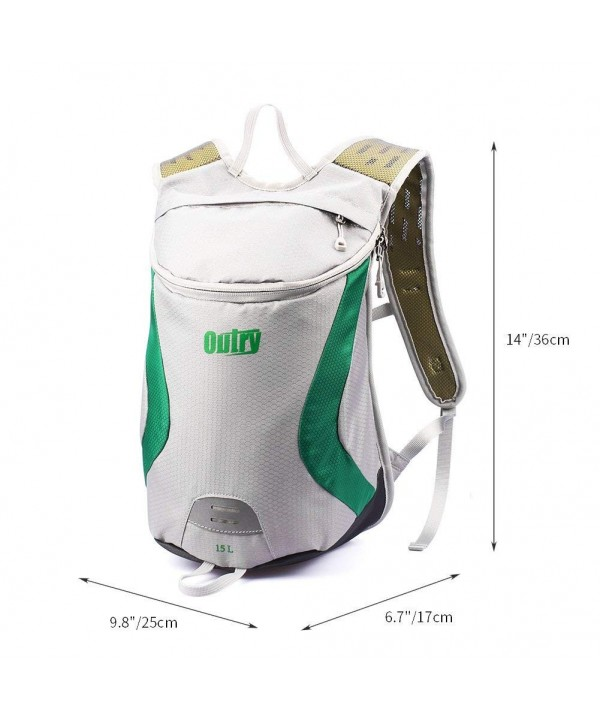 OUTRY Lightweight Backpack Daypack Green