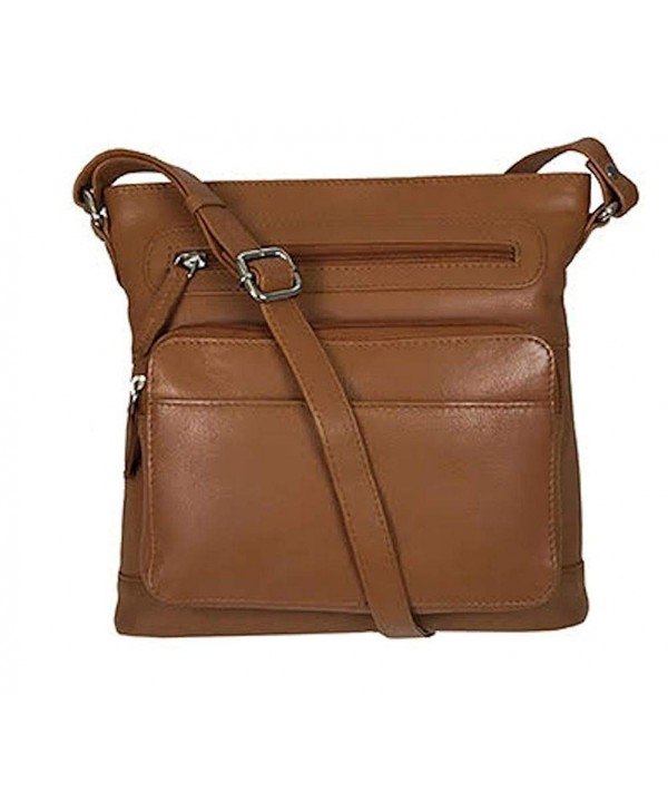 Pielino Genuine Leather Crossbody Organizer