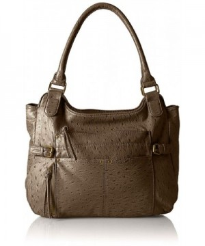 Bueno California Leather Ostrich Shoulder