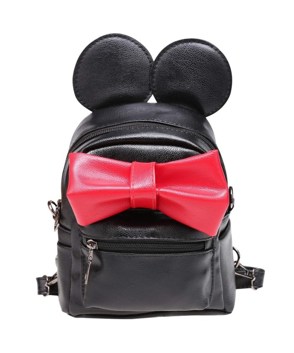 eshion Backpack Schoolbag Shoulder Bowknot