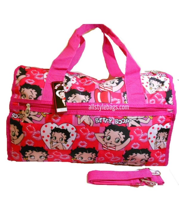 Betty Boop Shoulder overnight handbag
