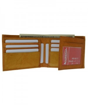 Marshal Wallet Leather Flipout Trifold