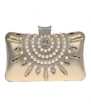 Zakia Crystal Evening Handbag Shoulder
