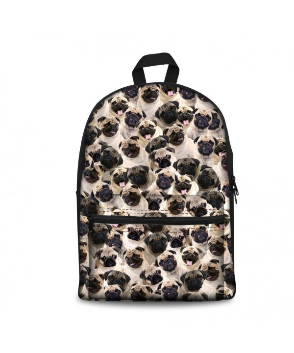 Instantarts Backpacks Children Shoulder Bookbags