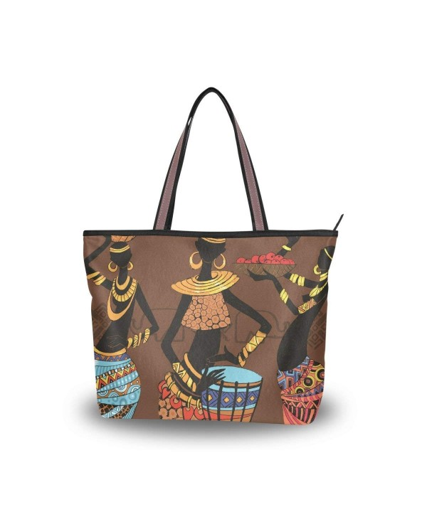 JSTEL Handle Shoulder African Handbag