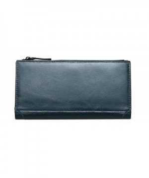 Womens Genuine Leather Wallet Bifold