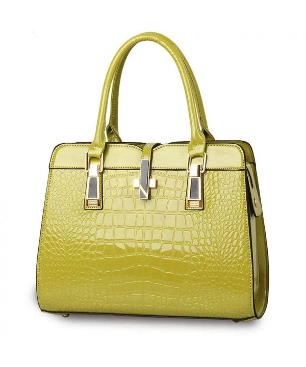 Fashion Designer Handbags Leather Alligator