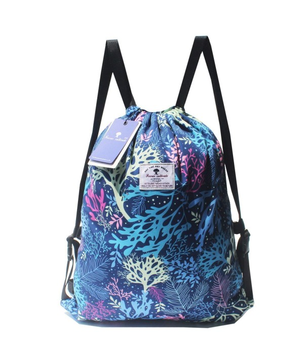 Drawstring Backpack Beach Pool Travel