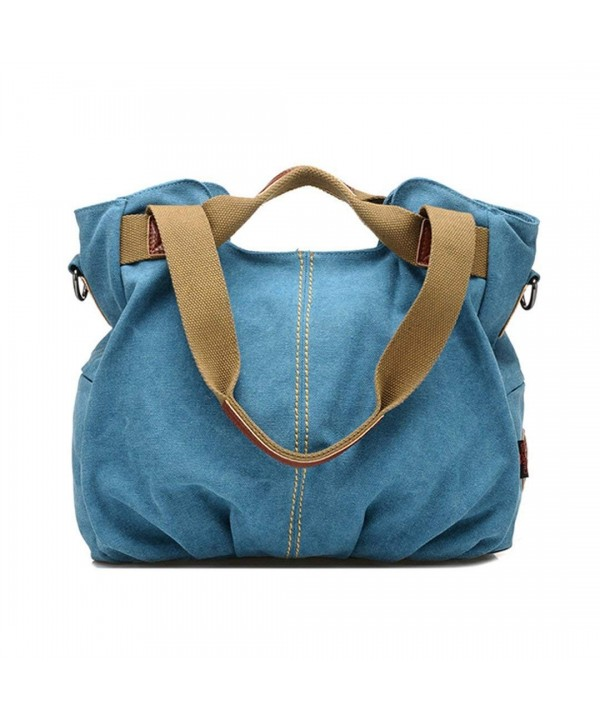 Aisa Vintage Shoulder Shopper Handbag
