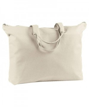 BAGedge Canvas Zippered Book Tote