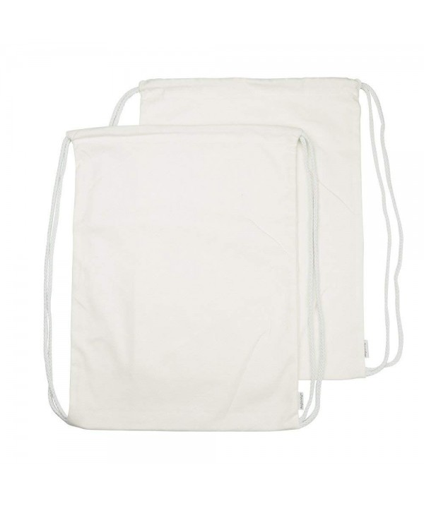 Augbunny Cotton Drawstring Backpack Sackpack