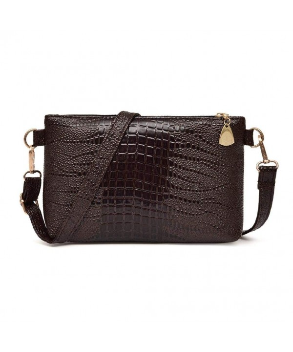 ZTY66 Fashion Leather Crocodile Shoulder