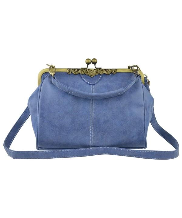Vintage Nubuck Leather Handbag Shoulder