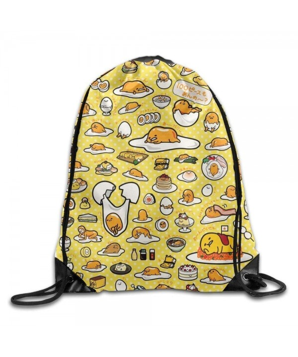 Gudetama Drawstring Bag Lightweight Sackpack