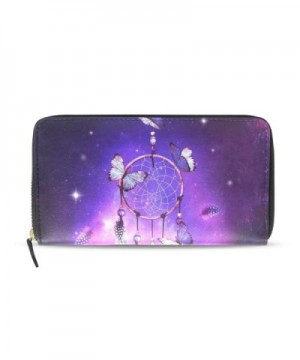 Womens Catchers Galaxy Pattern Wallet