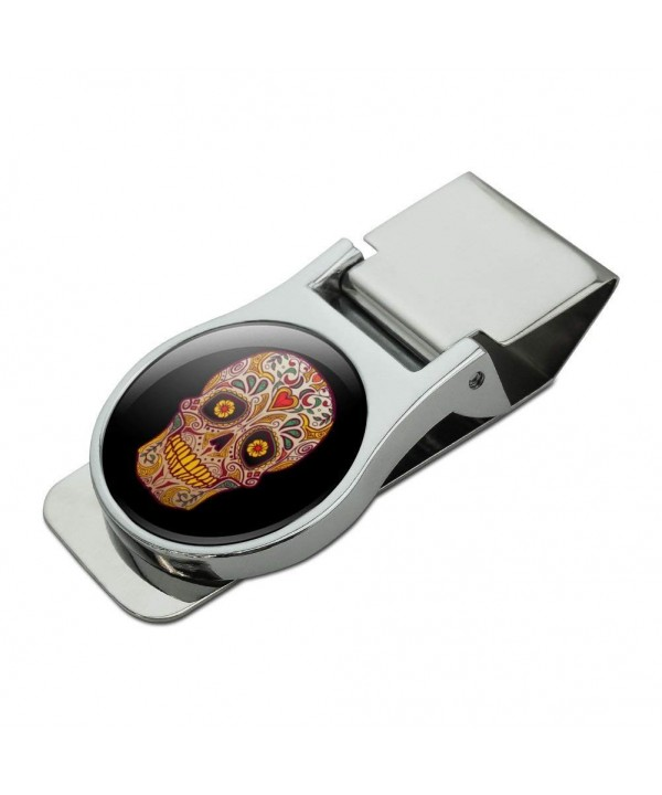 Skull Southwestern Satin Chrome Plated