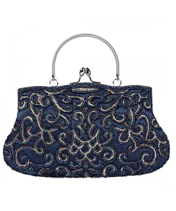 EPLAZA Beaded Evening Wedding handbag