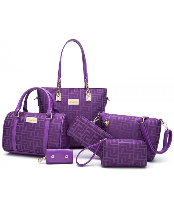 Women Shoulder Handbag Purse Purple