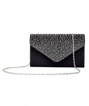 Gyeitee Rhinestone Frosted Envelope Shoulder