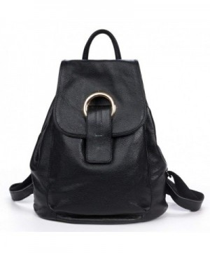 DRF Fashion Leather Backpack Daypack