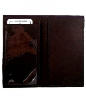 Genuine Leather Simple Check Holder