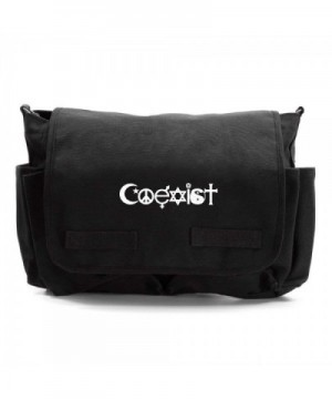 Coexist Heavyweight Canvas Messenger Shoulder