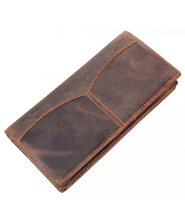Hereby Retro Simple Leather Wallet