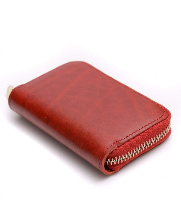 Small Cross Shoulder Leather Wallet