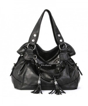 S BBG Womens Shoulder Leather Handbags