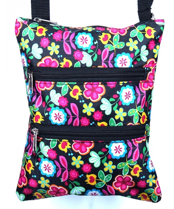 Enimay Designer Adjustable Crossbody Multicolor