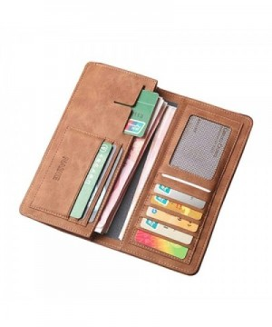 WHOLESALER Bifold Leather Breast Checkbook