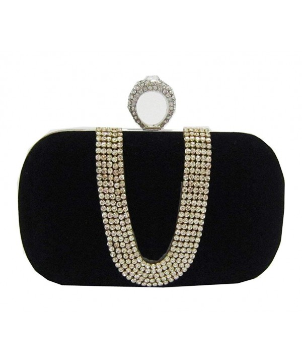 Chicastic Rhinestone Studded Minaudiere Cocktail