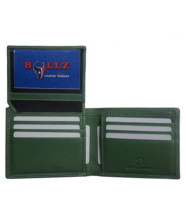 Leather Bifold Credit Crad ID Billfold