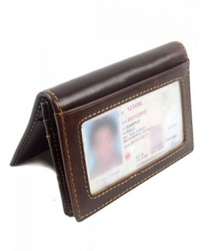 POPUCT Genuine Leather Wallet Blocking