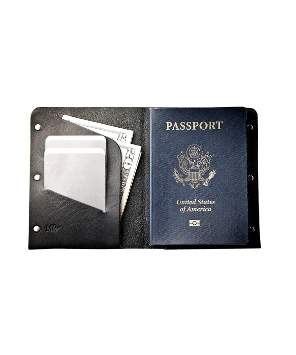 Mr Lentz Leather Passport Wallet