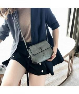 Shell Messenger Leather Shoulder Handbags