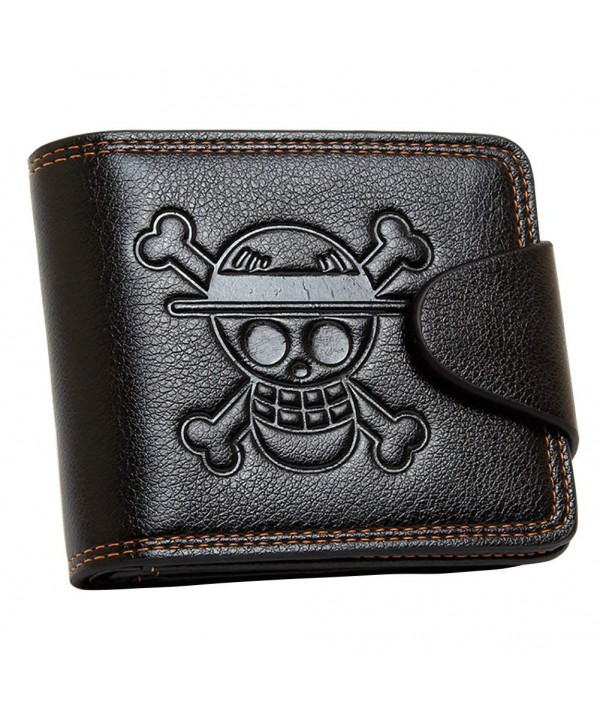 Wildforlife Anime Pirates Leathercraft Wallet