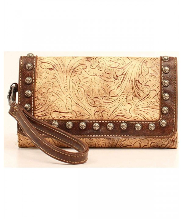 Blazin Roxx Womens Clutch Chocolate