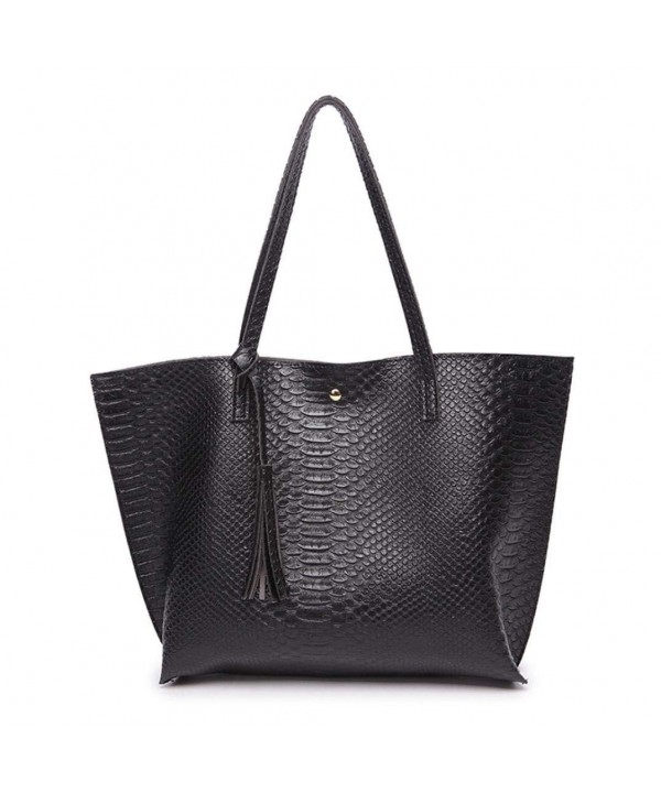 ChainSee Leather Alligator Pattern Shoulder