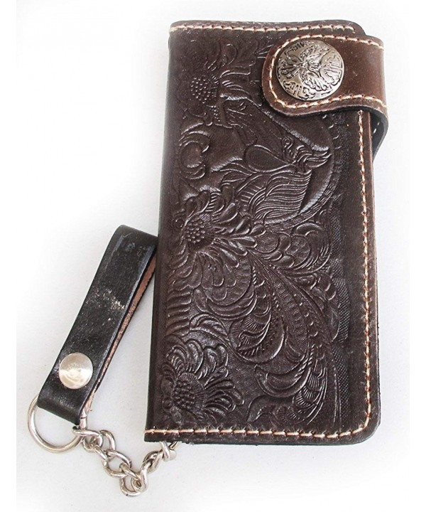 Seller BROWN TRUCKER CLUTCH WALLET