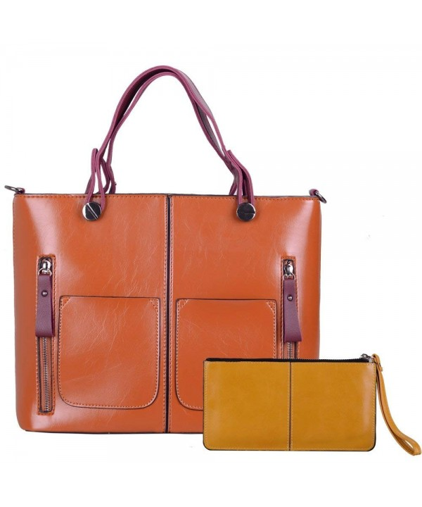 Satchel Handbags LORDWEY Crossbody Capacity