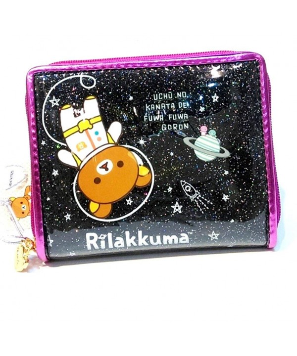 GLITTER Surface Rilakkuma Wallet Multiple