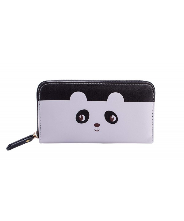 Cute Panda Wallets Women Fashionable