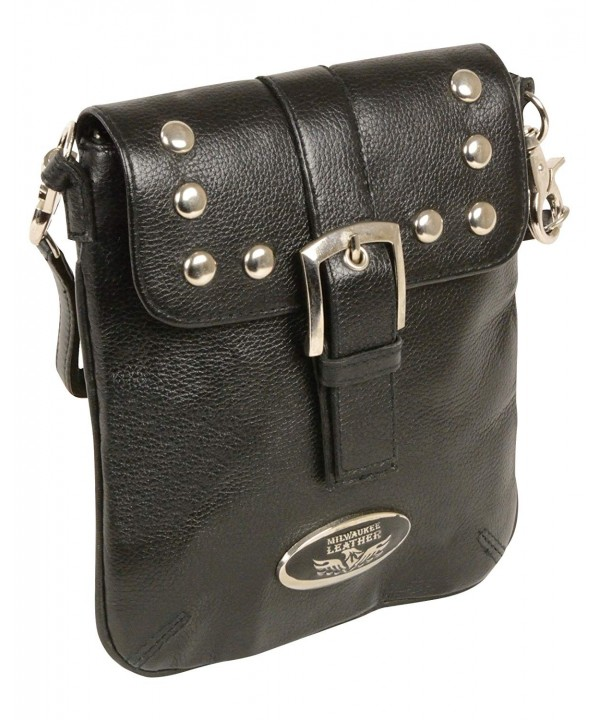Milwaukee Leather MP8805 BLK PCS Studded Shoulder