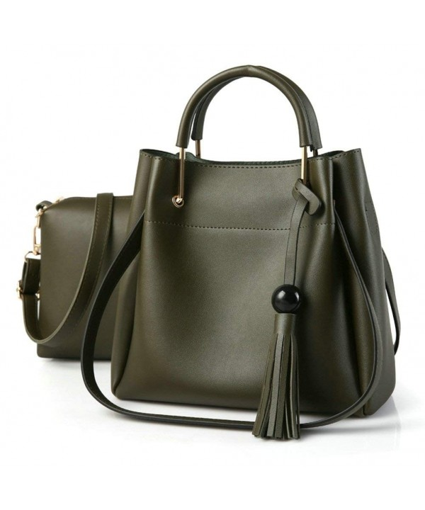 OVOV Leather Shoulder Crossbody Handbags