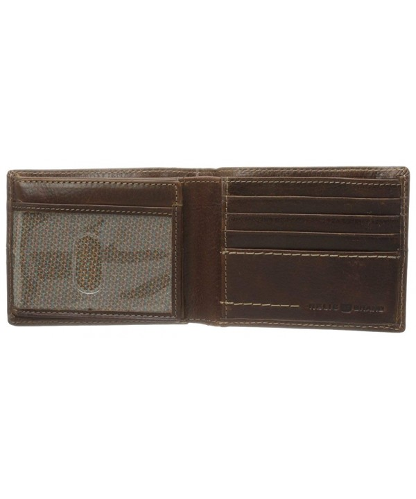 Relic Channel Traveler Wallet Brown
