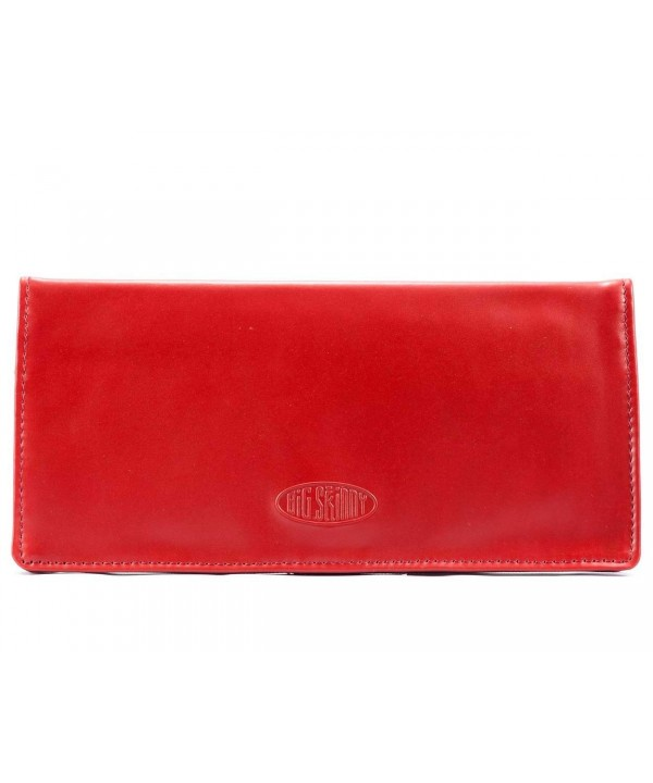 Big Skinny Executive Leather Checkbook