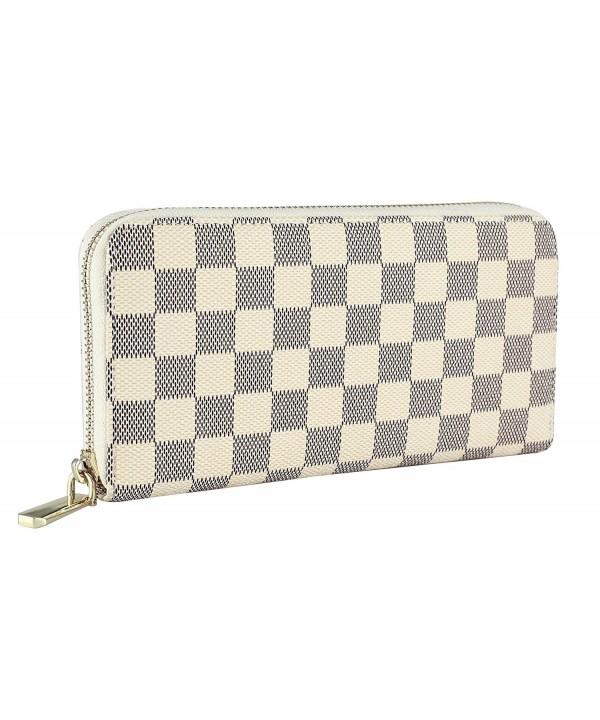 Daisy Rose Womens Checkered Around